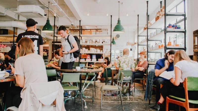 Funky Restaurants Cafes Portland