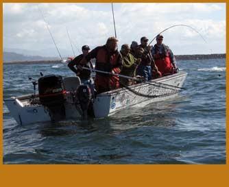 Fishing in Tillamook Bay Service