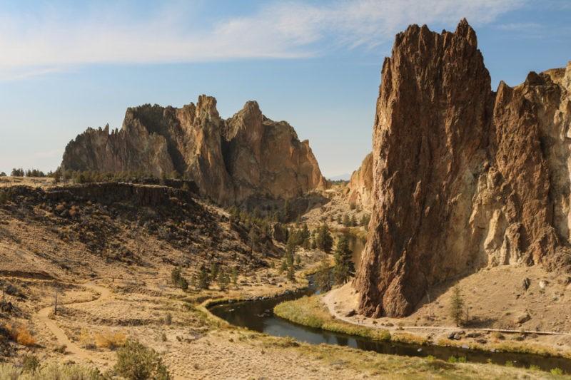 Smith Rock State Park landscape, Oregon
